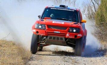 Latvijas komandas 'RE Autoclub' pilots Gardemeisters startēs Krievijas rallijreidā Astrahaņā