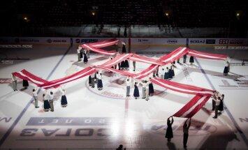 KHL saskata fašisma simbolu izmantošanu Rīgas 'Dinamo' pirmssvētku spēlē; pieprasa scenāriju