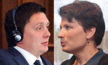 NEPLP ķildas: Kaimiņš ar Viņķeli 'saķeras' par budžeta veidošanu un krievu valodu