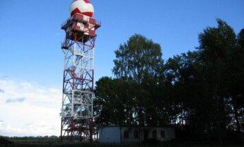 Ремонт единственного в Латвии метеорадара затянулся уже на месяц