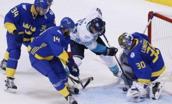 Eiropas hokeja izlase sensacionāli iekļūst Pasaules kausa izcīņas finālā