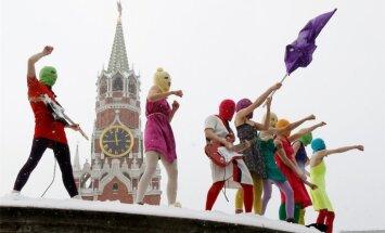 'Pussy Riot': Putina reitingi balstās tikai uz propagandu