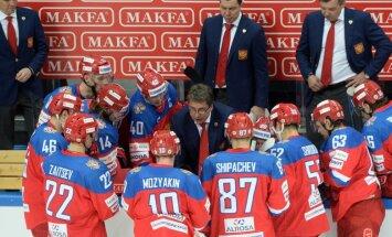 Znaroka un Vītoliņa vadītā SKA komanda KHL mačā sagrauj 'Ņeftehimik'