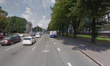 Ierobežos satiksmi Krišjāņa Valdemāra ielā