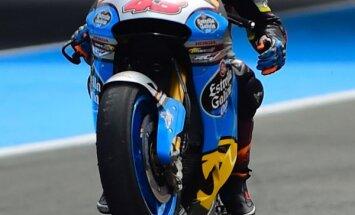 Austrālietis Millers sensacionāli uzvar haotiskās 'MotoGP' sacensībās Nīderlandē
