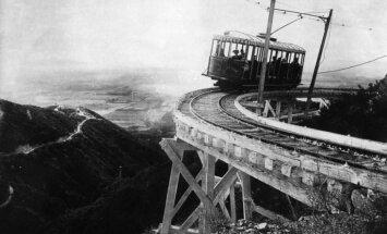 Ceļojums laikā: ASV pirmā elektriskā vilciena līnija, ko piemeklēja bēdīgs liktenis