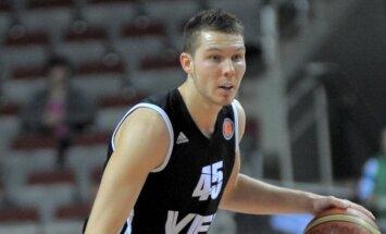Dairis Bertāns un Jēkabsone-Žogota atzīti par gada labākajiem Latvijas basketbolistiem