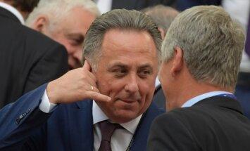 Мутко заявил о роспуске сборной России по футболу