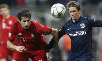 Madrides 'Atletico' iekļūst UEFA Čempionu līgas finālā