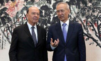 Ķīna brīdina ASV, ka tarifu palielināšana apdraudēs tirdzniecības vienošanās