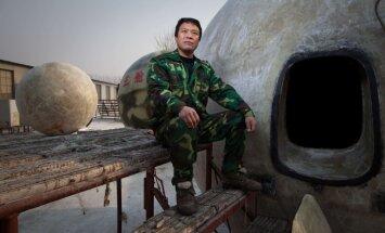 Bailēs no pasaules gala ķīnietis radījis savu 'Noasa šķirstu'