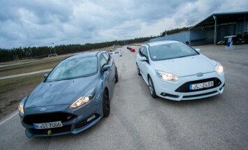 Video: Sportiskā 'Ford Focus ST' prezentācija trasē '333'