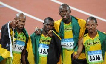Jamaikas sprinta izlasei un Boltam dopinga dēļ atņem Pekinas olimpiādes zeltu