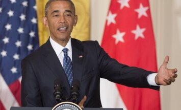 Obama mudina republikāņus noraidīt 'nepiemēroto' Trampu