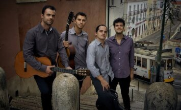 Jaunās mūzikas festivālā 'Arēna' uzstāsies Lisabonas ģitāru kvartets