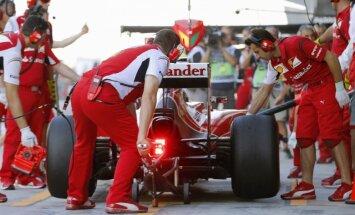 Fetels jau sēdies pie 'Ferrari' stūres