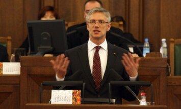 Kariņš aicina necīnīties par SGT būvniecību Latvijā un nezaudēt Eiropas naudu