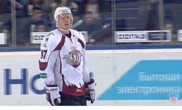 Delorjērs rāda brīnumus; Rīgas 'Dinamo' tomēr zaudē Kazaņā