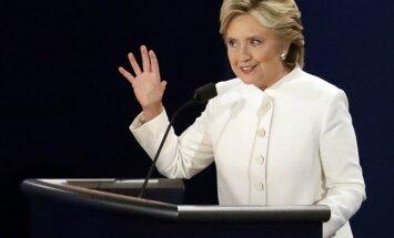 Balta un aizdomīga pulverīša dēļ evakuē Hilarijas Klintones kampaņas biroju
