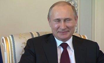 Putina pirmais komentārs: dzīve bez baumām būtu garlaicīga