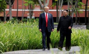 Pamatojoties uz godprātību, Ziemeļkoreja aicina ASV atcelt sankcijas