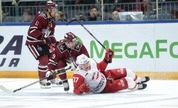 Rīgas 'Dinamo' izbraukumu uzsāk ar uzvaru pār Daugaviņu un Maskavas 'Spartak'