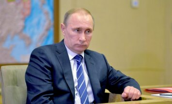 Putins: hakeru nopludinātā WADA informācija raisa jautājumus
