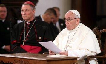 Папа Франциск: осознаю, что три государства Балтии всегда в опасности