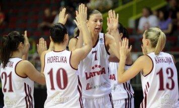 Latvijas sieviešu basketbola izlase mačam ar Somiju sastāvu nemainīs