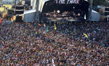 Glastonberijas festivāla rīkotāja saņēmusi nāves draudus par Kanjes Vesta uzaicināšanu