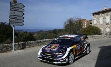 Pasaules čempions Ožjē uzvar Korsikas rallijā un nostiprina vadību WRC kopvērtējumā