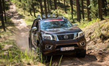 'Nissan Navara' – pagaidām lielākais no 'Latvijas Gada auto 2017' kandidātiem'