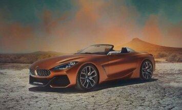 'BMW Concept Z4' – kopā ar 'Toyota' izstrādātais rodsters