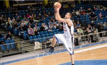 Šķēles 'Kalev/ Cramo' pietuvojas Igaunijas čempionāta finālam