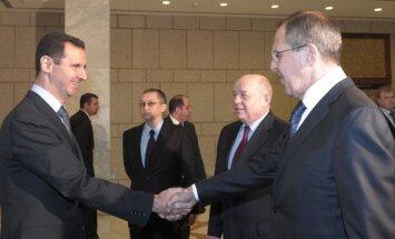 Krieviju satrauc paziņojumi par ASV gatavību 'iejaukties Sīrijas konfliktā'