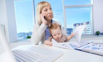 Kā iegūt profesiju bērna kopšanas atvaļinājuma laikā. Māmiņu pieredze