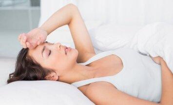 Reibonis un galvassāpes grūtniecības sākumā un vidus posmā: ko darīt
