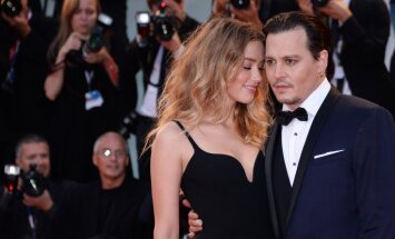 Džonija Depa sieva pieprasa laulības šķiršanu