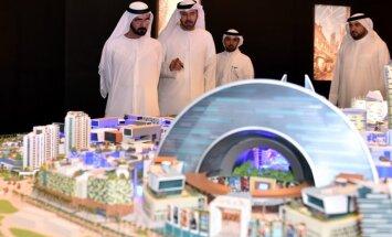 Zemās naftas cenas izgāž ieceri par gigantisko Dubaijas tirdzniecības centru