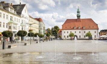 Vācijas pilsētas Finstervaldes jaunākā iela nosaukta Salaspils vārdā