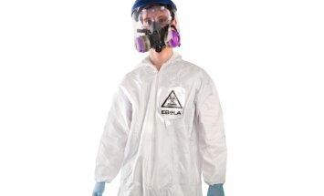 Ebolas uzliesmojums: uzņēmēji cer nopelnīt ar Ebolas vīrusa aizsargtērpiem helovīnam