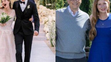 Foto: Pie vīra izgājusi miljardieru Geitsu vecākā meita