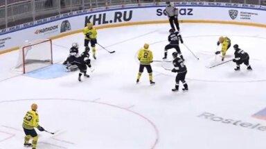 'Rīgas' hokejistiem minimāls zaudējums MHL mačā