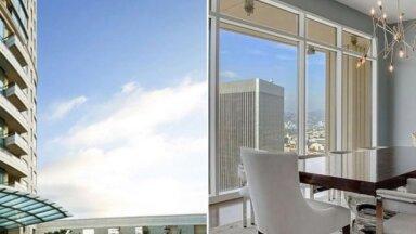 ФОТО. Дом в поднебесье: Аскетичная квартира Мэттью Перри в Лос-Анджелесе