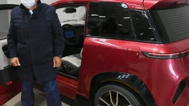 Tatarstānas prezidents pēc 'Kamaz' elektroauto testa: Īlon Mask, nu kā tev?