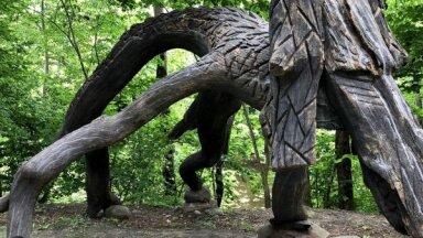 ФОТО: Богатый достопримечательностями парк Лиелварде