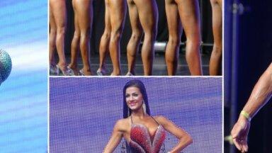 Šmaugas dāmas, trenēti puiši: Rīga pulcē pasaulē skaistākos fitnesa modeļus