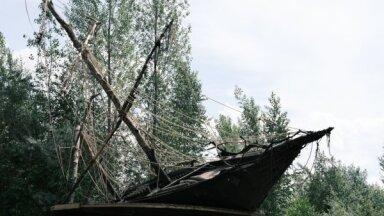 Foto: Māksla gruvešos – 'Boļševičkas' teritorijā atklāta jauna izstāde