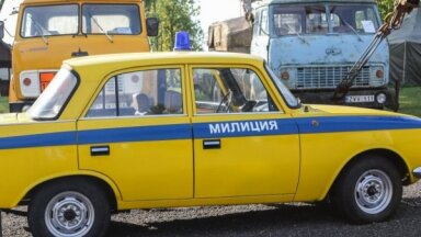 Foto: Tehnikas muzejs Lietuvā, kur atrodami seriālā 'Černobiļa' redzamie spēkrati