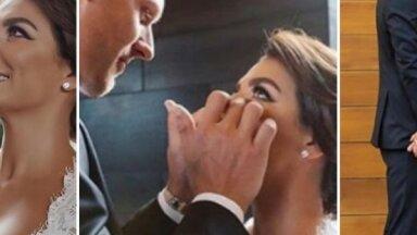 Privāti kadri: Ieskats Jāņa Timmas un Annas Sedokovas kāzās